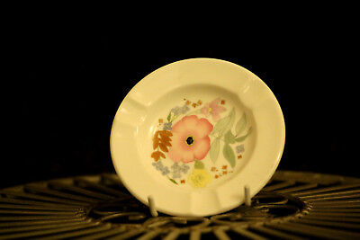Small Vintage Porcelain Wedgwood Ashtray Meadow Sweet