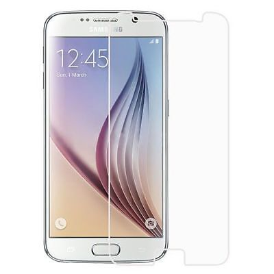 Clear Tempered Glass LCD Screen Protector Film Cover For Samsung Galaxy S6
