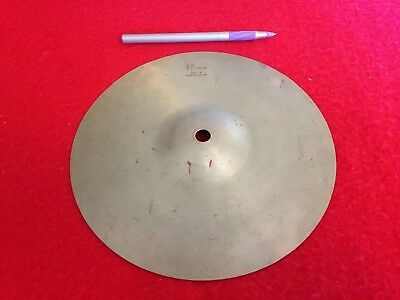 "Sonor Cymbal Vintage 8"" Across Very Old I Would Say 60's Free Postage"