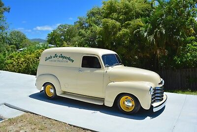 1953 Chevrolet 3100 Panel Truck, 350 V8 Auto, A/c, Mustang Ii Ifs - Pickup Ford