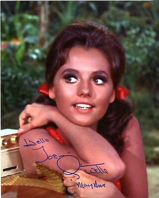 Dawn Wells Mary Ann Gilligan's Island Signed 8x10 Photo Authentic Autograph *Clr