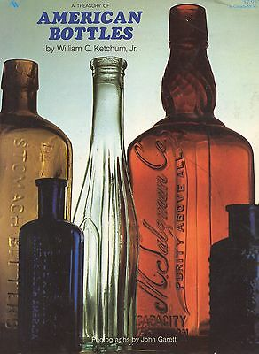 Antique American Bottles - History Types Makers / Scarce In-Depth Book