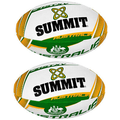 2PK Summit Global First XV Australia Rugby Union Ball Football Size 5 Outdoor