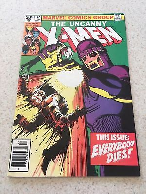 Uncanny X-Men #142, VF+ 8.5, Days of Future Past Part 2, Wolverine, Storm