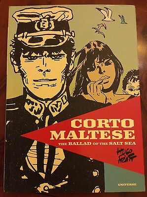 CORTO MALTESE: THE BALLAD OF THE SALT SEA  by Hugo Pratt (Universe Publishing)