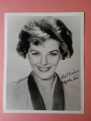 """MARJORIE LORD """"MAKE ROOM FOR DADDY"""" HAND SIGNED 8x10 PHOTO"""