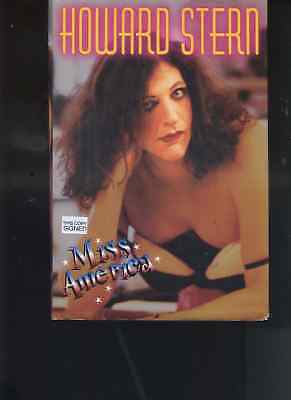 HOWARD STERN  wdob hand signed  hc book - MISS AMERICA - 1st Edition