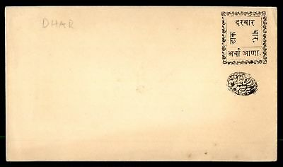 Mayfairstamps India Dhar Mint classic Postal Stationery Envelope Unsealed Flap