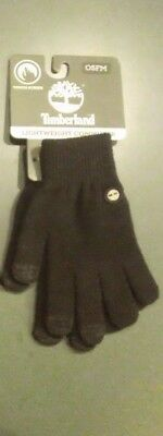 Pair of Timberland Men's Magic Glove w/Touchscreen Technology, Black, OSFM
