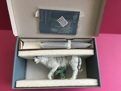 New LLADRO The Tiger 01008465 Chinese Zodiac Collection Porcelain Figure