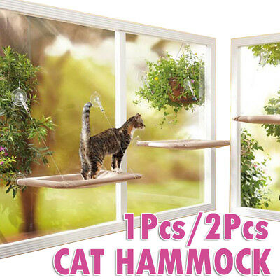 Cat Window Mounted bed Cat Seat Pets Sunny Hammock Cover Washable Comfortable