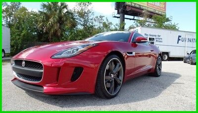 2015 Jaguar F-Type ONE OWNER FLORIDA CARFAX NO RESERVE! 2015 JAGUAR F-TYPE ONE OWNER FLORIDA CARFAX NO RESERVE!
