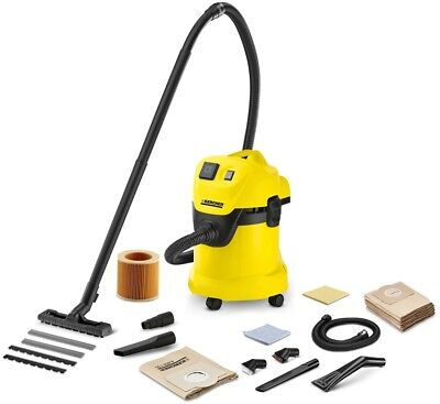 Home Cleaner Karcher WD3P Wet And Dry Vacuum Cleaner With Car Kit