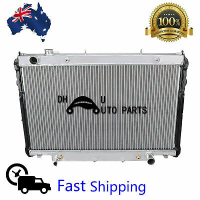 Radiator Fits Toyota Landcruiser 80 Series HZJ80 1HZ&1HDT Diesel 90-98 Turbo AU