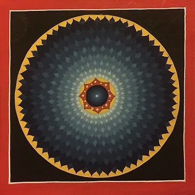 Original Handpainted Tibetan Chinese Mandala Thangka Painting Meditation Art 105