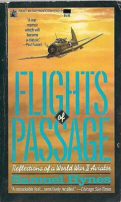 Flights of passage, reflections of a WWII Aviator, Samuel Hymes