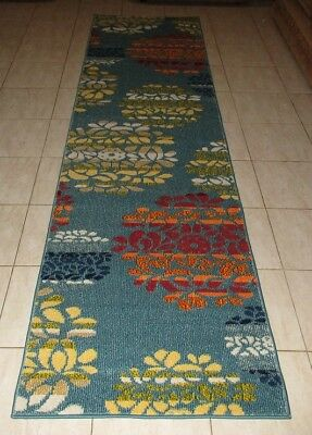 New Modern Heatset Quality Floor Hallway Runner Rug 80X300Cm