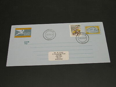 South West Africa 1978 aerogramme to UK *31751