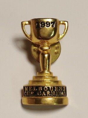 1997 Melbourne Cup Horse Racing Carnival Pin / Badge