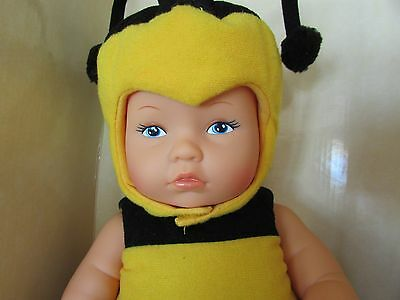 """Anne Geddes 13"""" """"Baby Bees"""" Doll With box"""