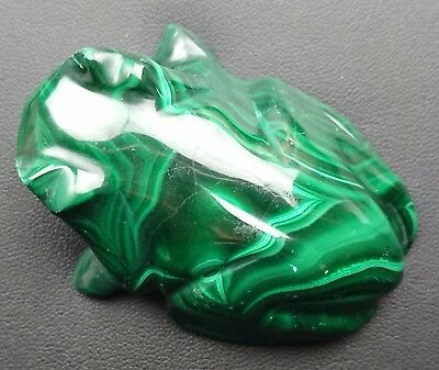 Malachite 108 grammes Grenouille - Natural frog Malachite