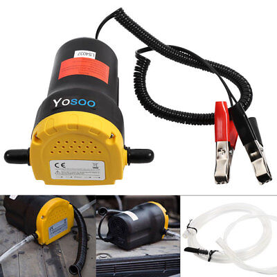 12V 60W Electric Fluid Extractor Oil Diesel Transfer Pump Car Motorbike