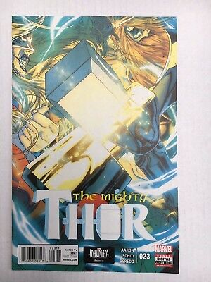 Marvel Comics: The Mighty Thor #23 (2017) - BN - Bagged and Boarded