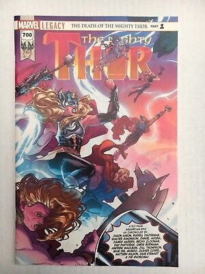Marvel Comics: The Mighty Thor #700 (2017) - BN - Bagged and Boarded