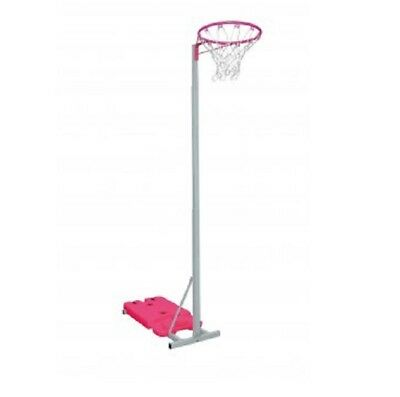 Sure Shot Easi Play Junior Unit  Adjustable Pink Netball Unit