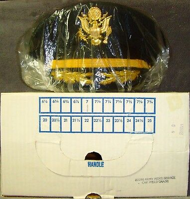Brand New in Box•Kingform•US Army•Officer's Dress Cap•Deluxe•Pins•NewYork•Size 7