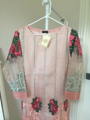 Beautiful Original Agha Noor Formal Kurti Size L Chest 21.7 Inches