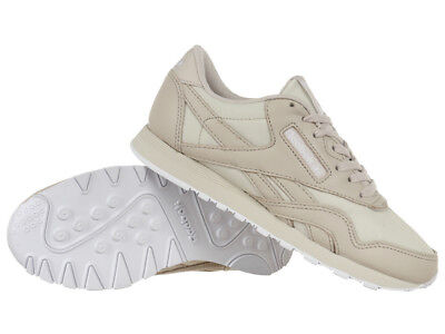 abb3e867caf1  Reebok Classic Nylon PJ Womens Sports Sneakers Leather Shoes Lace Up  Trainers
