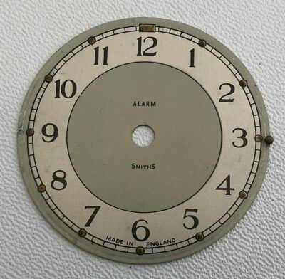 Vintage Art Deco Smiths Alarm Clock Dial Face Spares Repairs Made in England