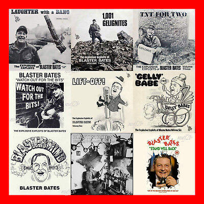 Blaster Bates Complete mp3 Collection , 9 Volumes on CD Audiobook