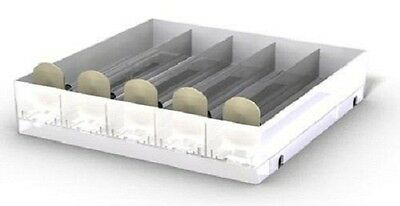 Retail Cigarette Merchandiser-In counter spring loaded pushers 1 tray