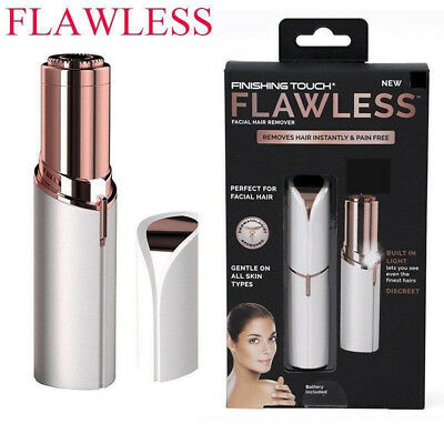 Finishing Touch Flawless Women Painless Hair Remover Face Facial Remover BATTERY
