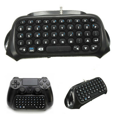 Playstation 4 PS4 Mini Keyboard Bluetooth Wireless Chatpad For Controller
