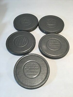 Single Metal 8mm Film Movie Compco / Silver empty Cases Only