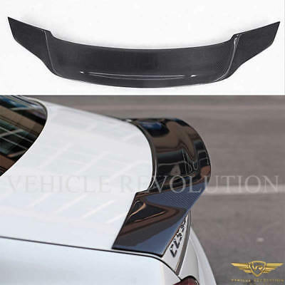 Mercedes Benz W218 CLS 63 Amg R Style Carbon Fibre Rear Trunk Boot Wing Spoiler