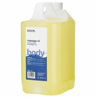 Strictly Professional Massage Oil 4 Litre With Soya Bean and Wheatgerm
