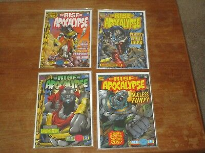 The Rise Of Apocalypse #1 2 3 4 Complete Series Nm+ Check My Huge X-Men Sale