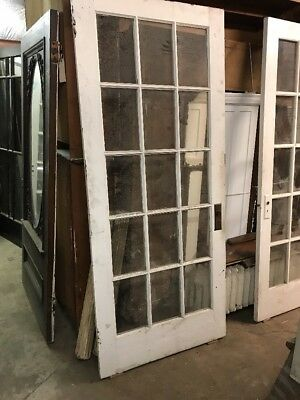 Cmp Antique French Style Entry Door Or Sunroom Door 35.75 X 83.75