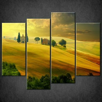 Rolling Hills Of Tuscany Canvas Print Picture Wall Art Free Fast Delivery