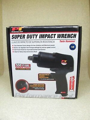 Wilmar Super Duty Air Impact Wrench M625 Twin Hammer 1/2 New Free Shipping
