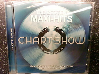 CHART SHOW - MAXI Hits - CD, NEU, OVP + Summer, Jackson, Visage, Kool &The Gang