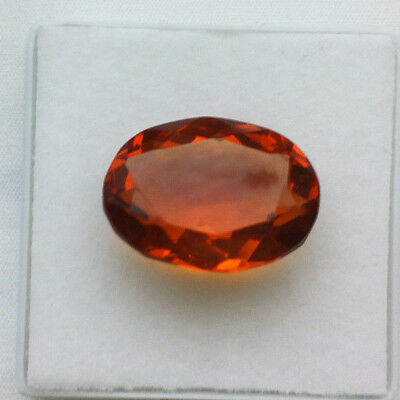 BIG - Citrin feuriges Gelb 24,10 ct Oval facettiert- 22,0 x 16,3 x 11,2 mm