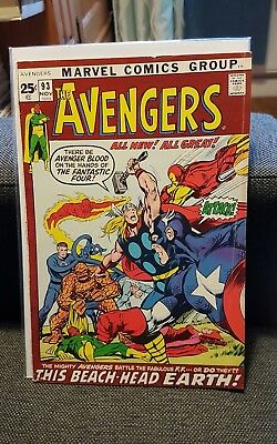 The Avengers 93 Neal Adams cover