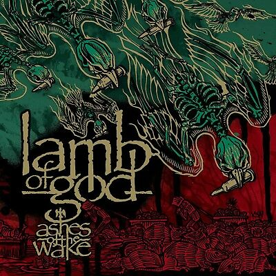 Lamb of God Ashes of the Wake poster wall art home decor photo print 24x24 inch
