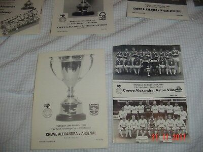 1988 crewe Alexandra arsenal fa youth challenge cup fifth round