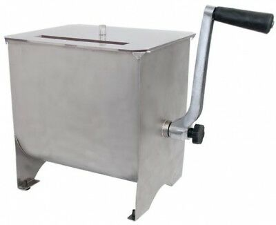 Meat Mixer 20Lb Capacity Stainless Mixing Paddle Poly Handle
